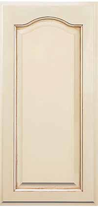 Brookside Door with Cathedral Style with Pearl Opaque