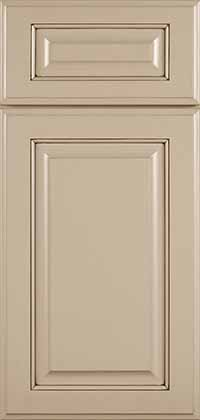 Brookside Door with With Portabello Opaque