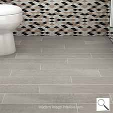 Norway Norland Gray Wood Look Tile Plank
