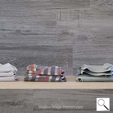 Palencia Gris 9 by 35 inch wood look tile plank