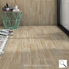 Palencia Taupe 9 by 35 inch wood look tile plank