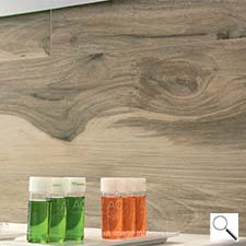 Allwood Italian design. Acero 6 1/2 by 40 and 10 by 40 Porcelain