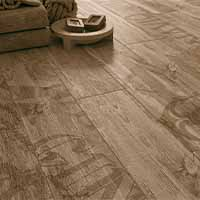 Navio Glazed Porcelain Non-Rectified 8 by 47 WoodLook Tile Plank