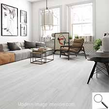 Zante White Wood Look Tile Plank 9by47